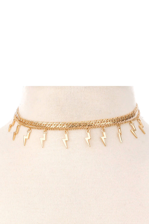 Light It Up Choker Necklace