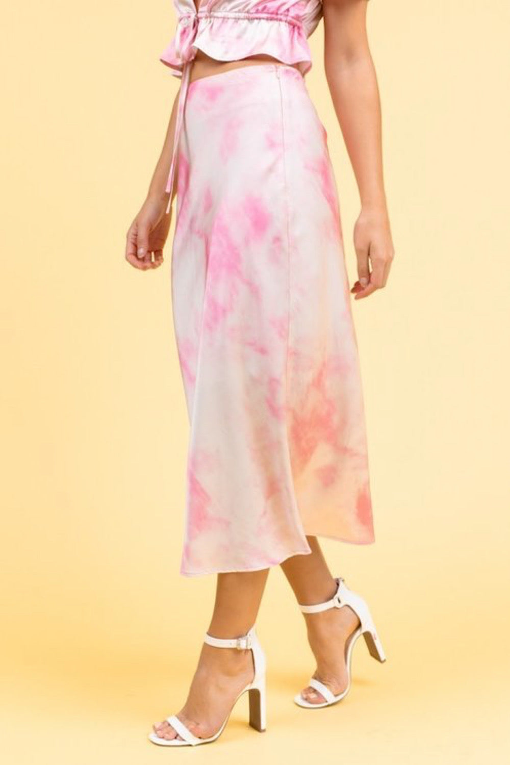 Smooth Talker Tie Dye Skirt
