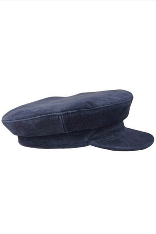 Straw Boater Black