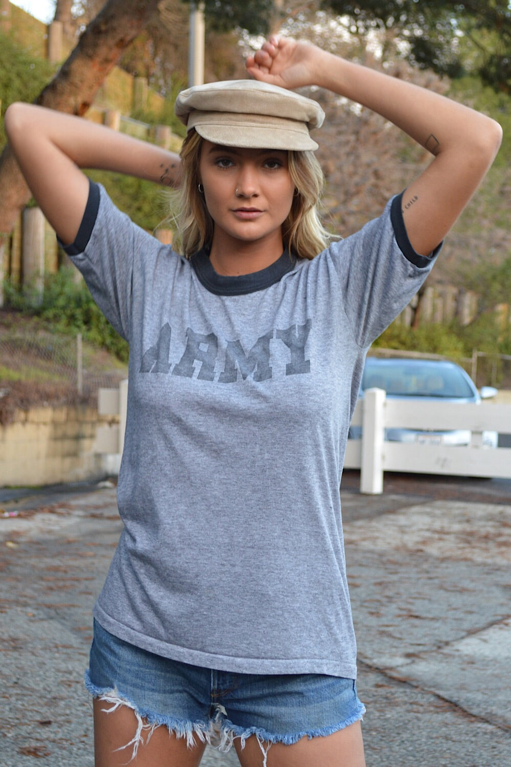 Army Ringer Tee