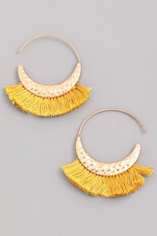 Left Hanging Earrings