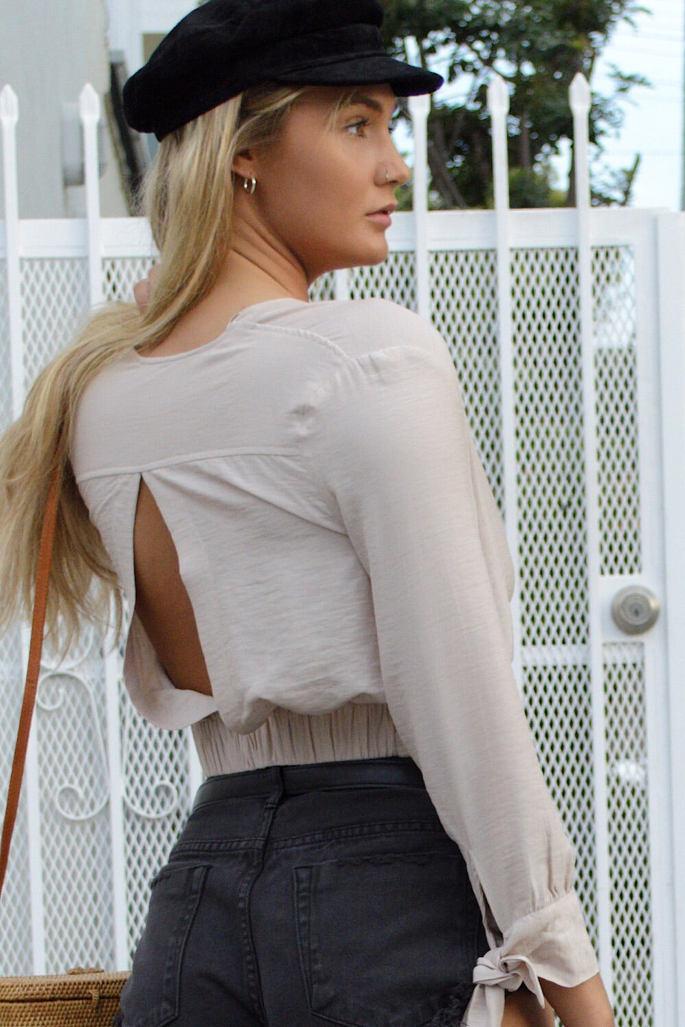 Moonrise Deep V Wrap Top