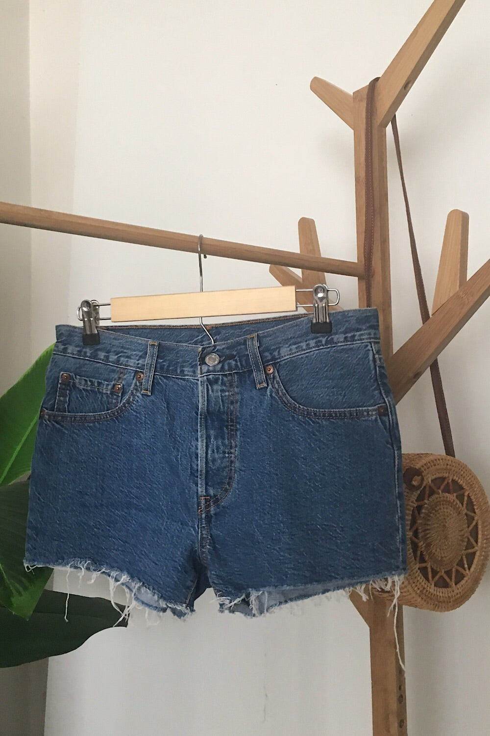 Vintage Levi's 501 Denim Short SIZE 7/8