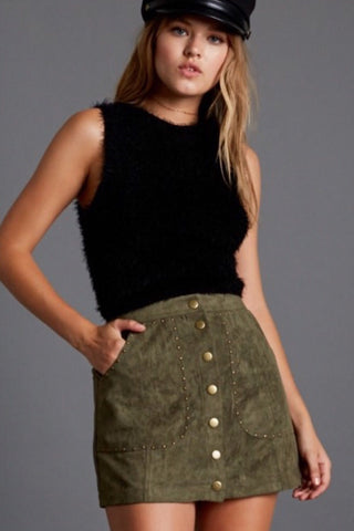 Everglades Crop Wrap Top
