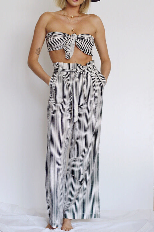 Streets of Sicily High Waist Pant