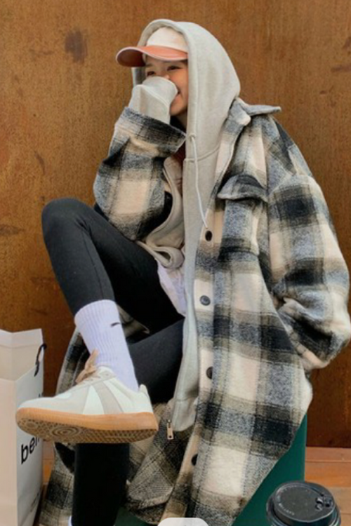 Snow Way Plaid Jacket