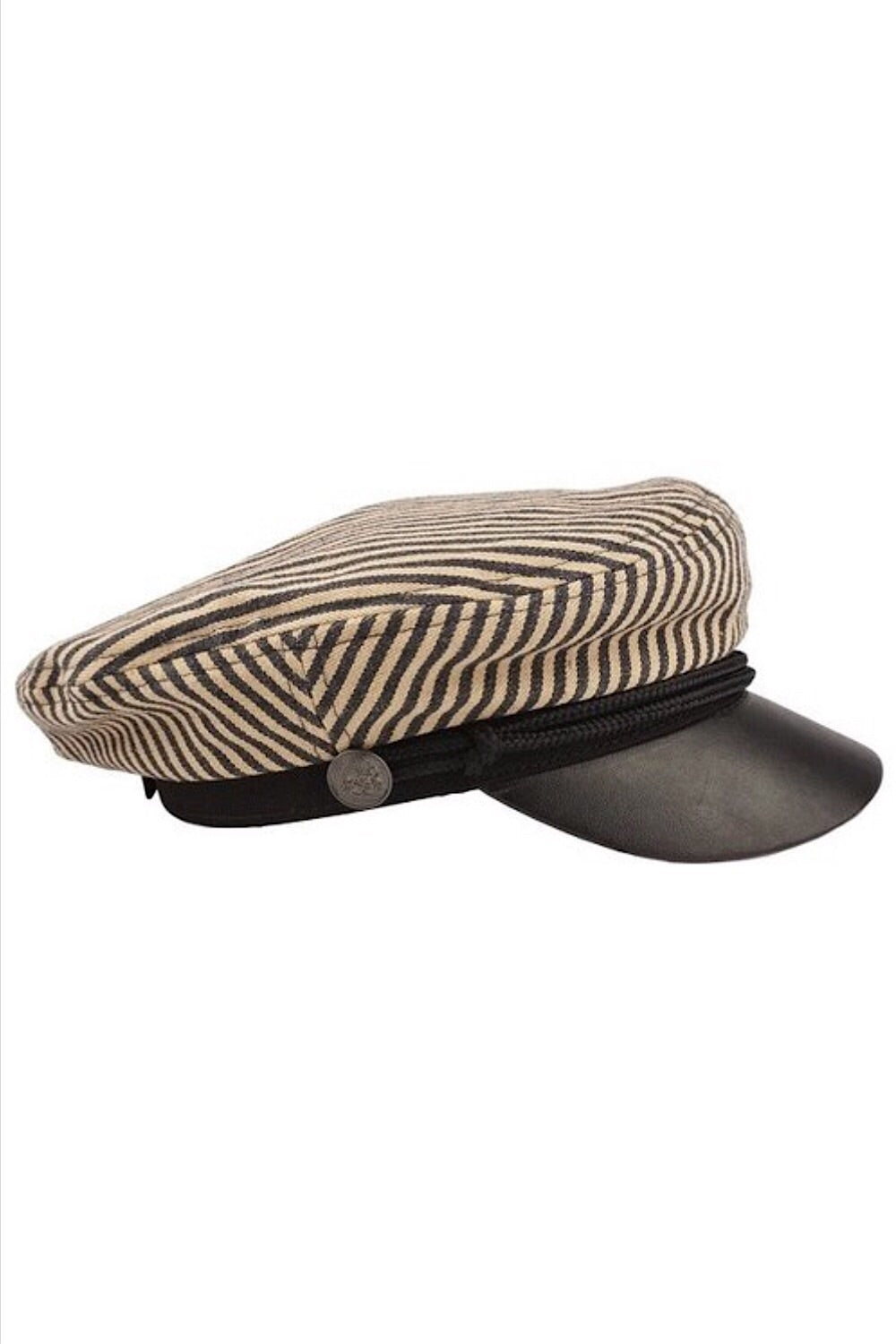 Striped Fisherman Cap