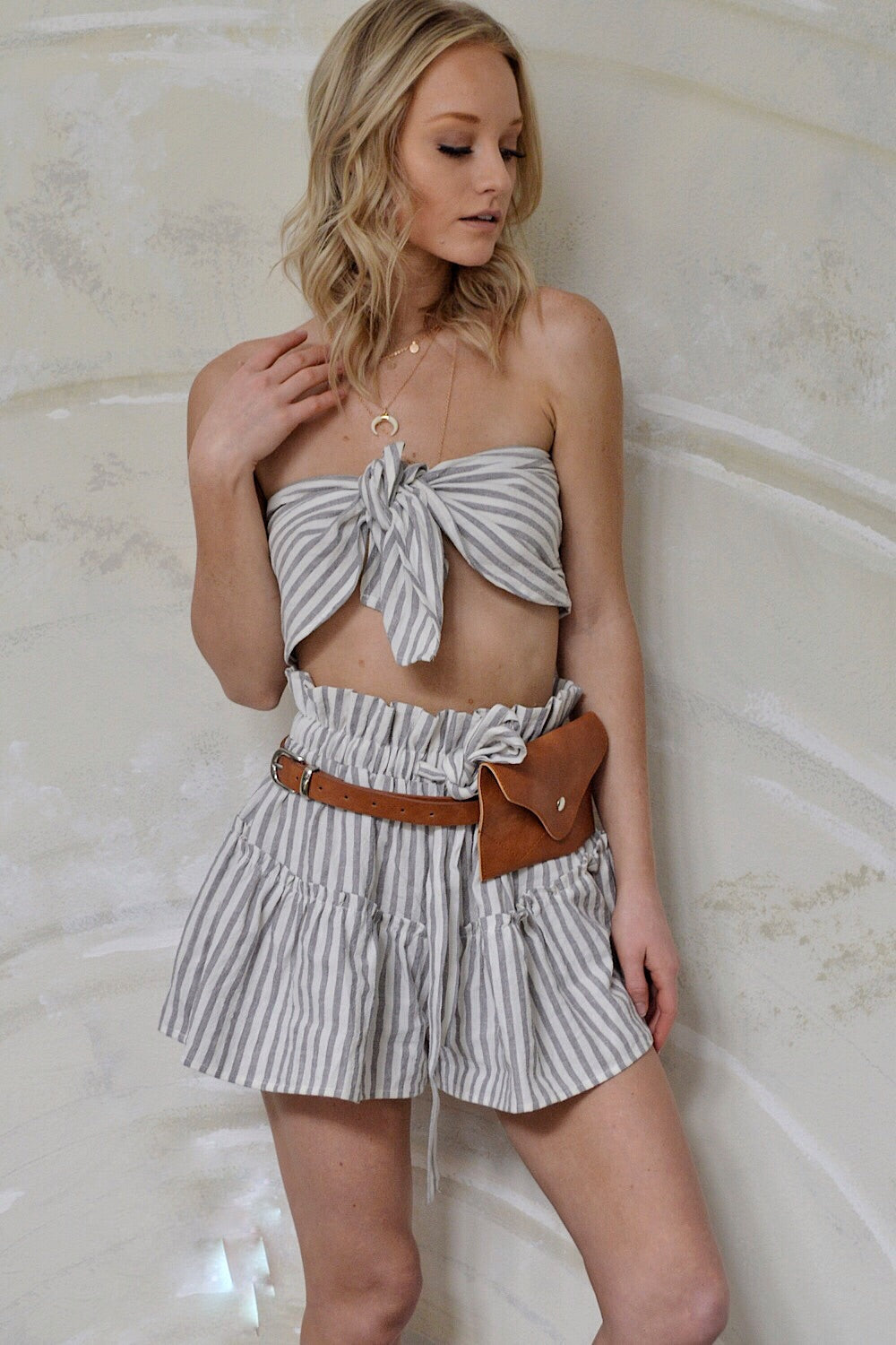 Take the Yacht Striped Set