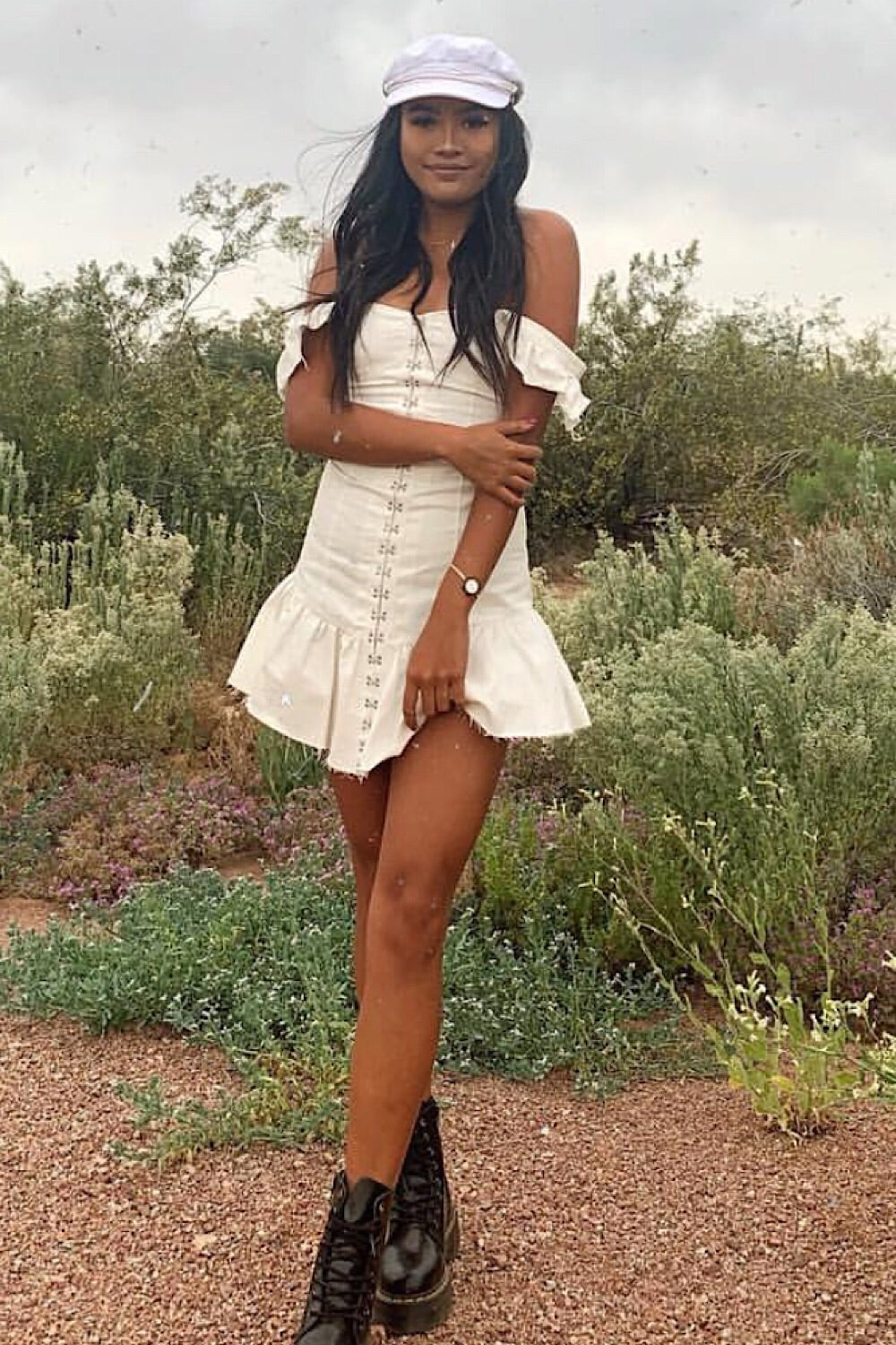 Silver Lake Mini Dress