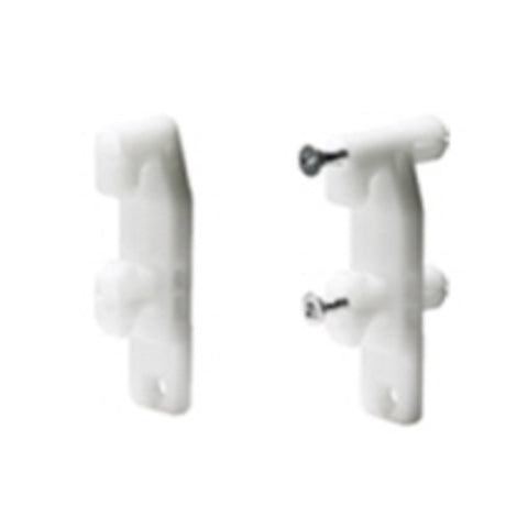 Hettich InnoTech Atira Screw-on front connector for drawer side profile