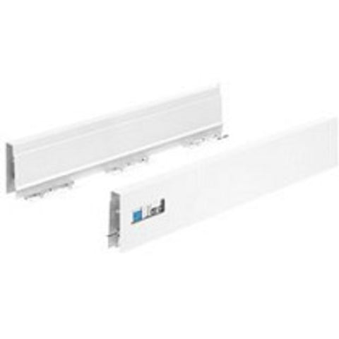 Hettich InnoTech Atira Drawer side profile NL 470 mm H=70mm White