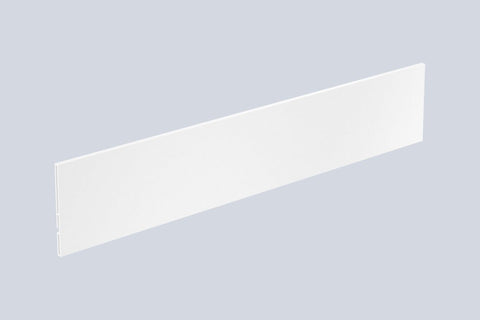 Hettich AvanTech YOU Internal Front Panel Aluminium 2000mm White