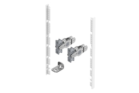 Hettich AvanTech YOU Connector for Internal Front Panel White