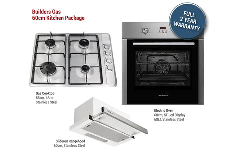 Builders Gas 60cm Kitchen Package