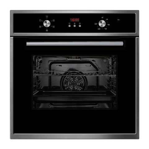 Domain 60cm Stainless Steel 5 Function Electric Oven 70L