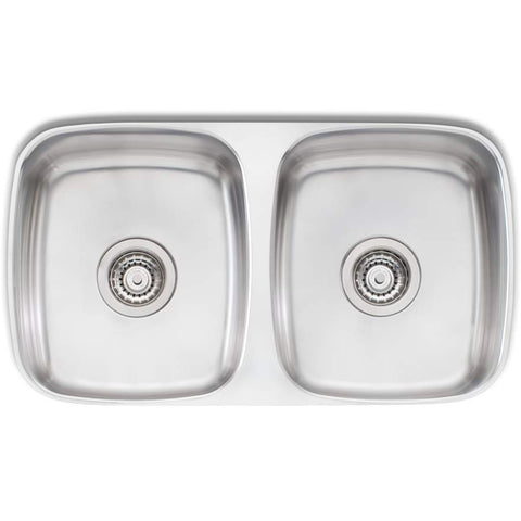 Oliveri Endeavour Double Bowl Undermount Sink