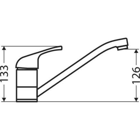 Oliveri Essentials Single Lever Mixer