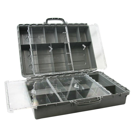 Exactapak Standard Pack - ABS Grey / Polycarbonate Clear Lids