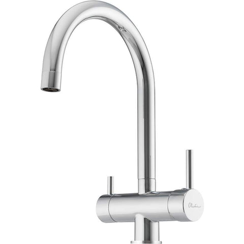 Oliveri Essentials Round Goose Neck 3 Way Filter Tap