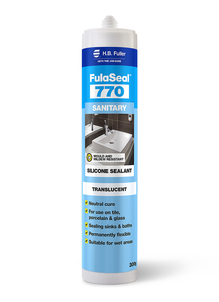 Fuller Trade 770 Sanitary Silicone Sealant 300g