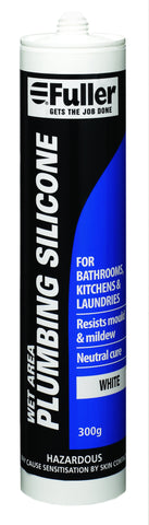 Fuller Wet Area Plumbing Silicone 300g White