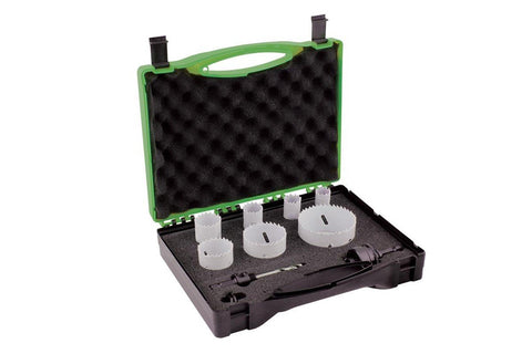 Bristol 9 Piece Electrical Holesaw Kit