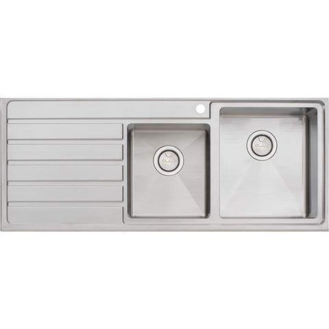 Oliveri Apollo 1 + 3/4 Bowl Sink with Drainer