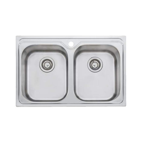 Oliveri Diaz Double Bowl Universal Sink
