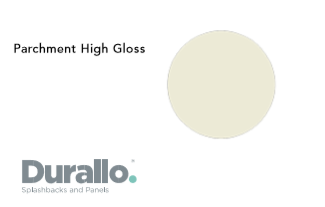 Parchment High Gloss Durallo Splashback