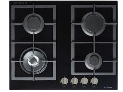 Domain 60cm Gas Glass Cooktop