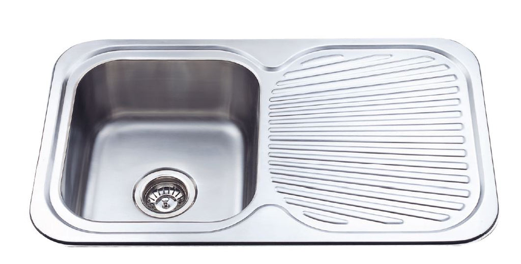 Single Bowl S/S 781x480x180 RH Sink
