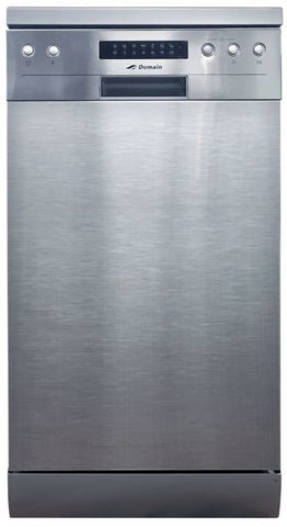 Domain Freestanding Dishwasher Stainless Steel