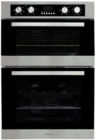 Domain 10F Electric Double Oven LED Display
