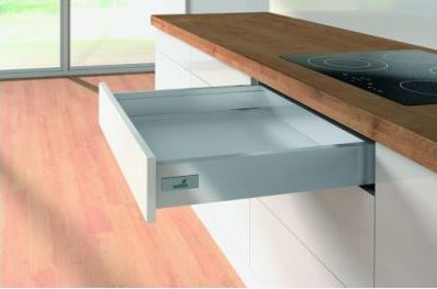 Hettich Innotech Atira Drawer Set 70x470mm Sliver - No Runner