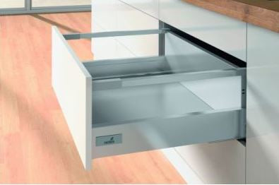 Hettich Innotech Atira Drawer Set 176x520mm Sliver - No Runner