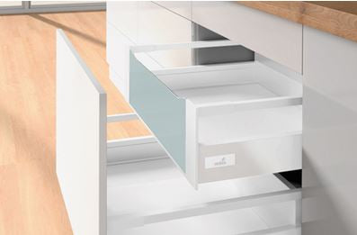 Hettich InnoTech Atira Bulk Drawer Set H=144mm, White
