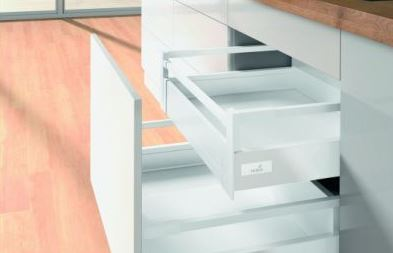 Hettich Innotech Atira Inner Drawer 144x520mm White No Runner