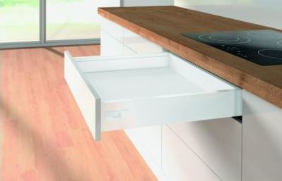 Hettich Innotech Atira Drawer Set White - Soft Close 30kg