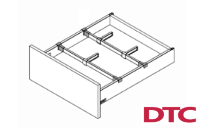 Magic Pro Drawer Square Cross Rail Connector