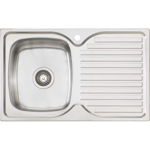 Oliveri Endeavour 770mm Single Bowl Sink