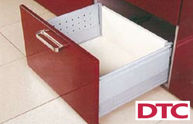DTC Pot Drawer with Double Wall Box Sides - 199mm Height