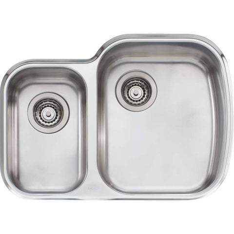 Oliveri Monet 1 + 1/2 Bowl Undermount Sink
