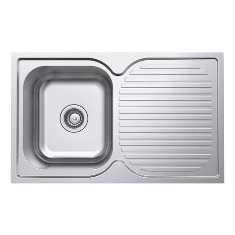 Domain Polished Kitchen Sink and Drainer
