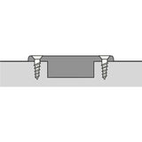 Hettich Intermat 9936 95° Screw on Door Hinge Full Overlay