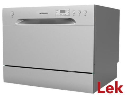 Domain 60cm 6 Place Stainless Steel Benchtop Dishwasher