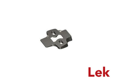 Hettich Angle adapter for cross mounting plates, 10°