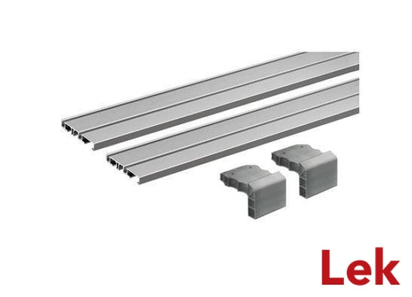 Hettich SlideLine M 2x2500 mm Runner Profile
