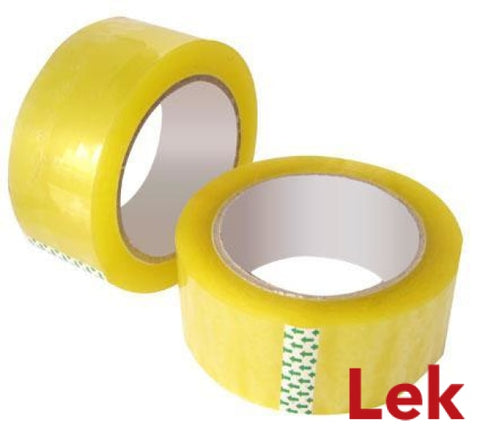 Packing Tape 48mm x 75m - Clear (36 Roll/Carton)