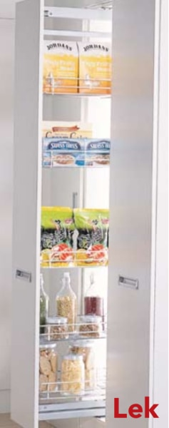 Soft Closing Pullout Pantry