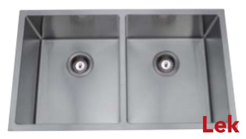 Under/ Over Mount Double Bowl Sink 760*440*230